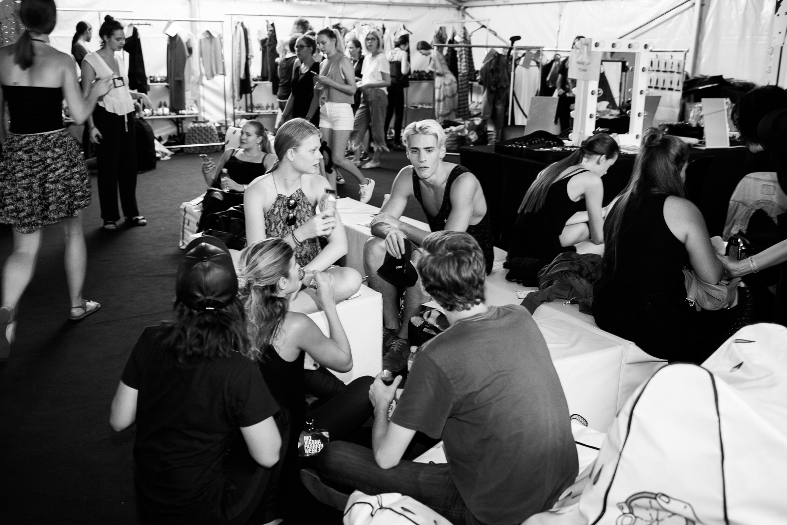 Vienna Fashion Week 2016 Opening Show Backstage Pictures